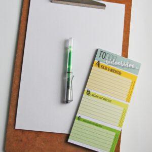 To-Do-Liste Prioritäten A, B, C