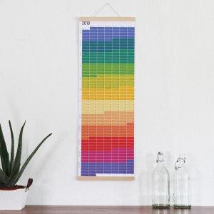 Wandkalender 2019 Regenbogen Wi-La-No