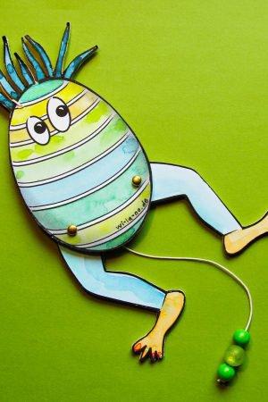 Hampel-Ei zu Ostern