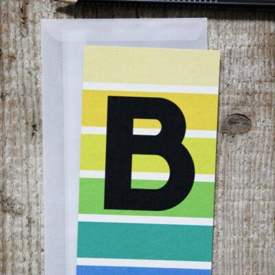 ABC Postkarten von Wi-La-No